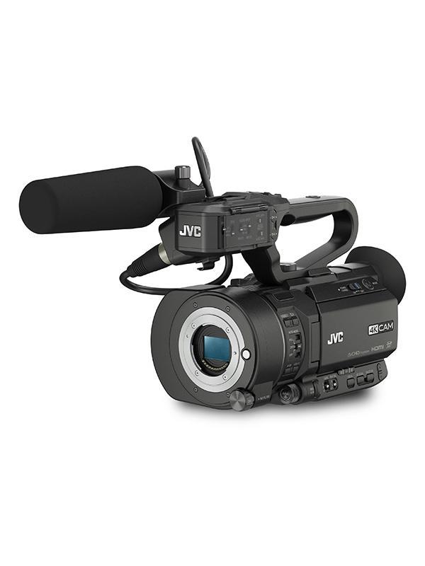 JVC Videocámara GY-LS300E 4K Super 35mm Cuerpo MFT -