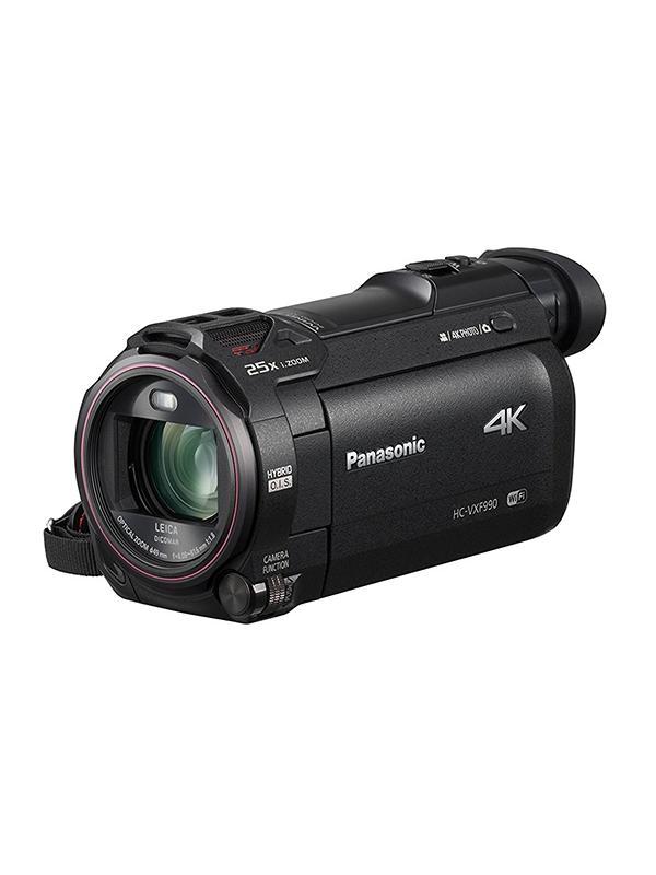 Panasonic VideoCámara HC-VXF990EGK 4K 25x WiFi EVF -