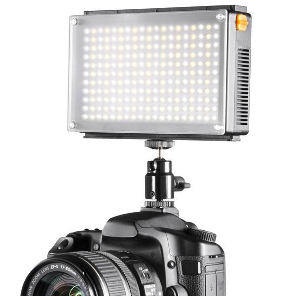 Walimex Foco LED Bi-Color 209 Led + Bateria y Cargador