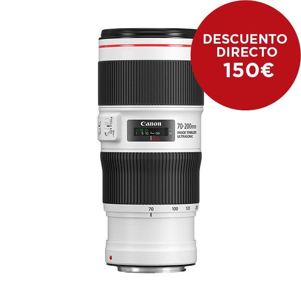 Canon Objetivo EF Zoom  70-200mm f4 L IS II USM