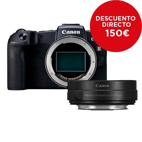 Canon Cámara EOS RP + Adaptador EF