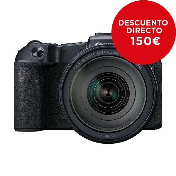 Canon Cámara EOS RP + RF 24-105mm f4L IS + Adaptador EF