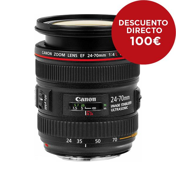 Canon Objetivo EF Zoom  16-35mm f4.0L IS USM