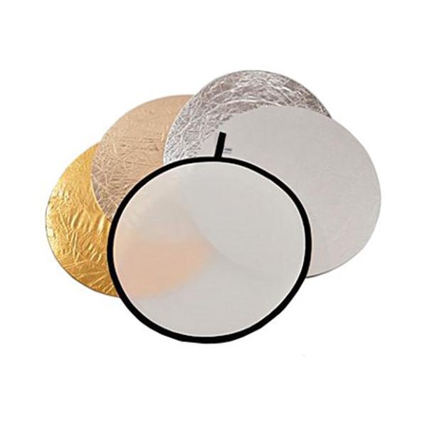 Lastolite Reflector 50cm 5 en 1 Traslúcido/Sun/Plata/Oro/Blanco