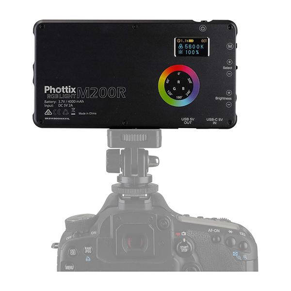 Phottix Antorcha LED M200R RGB Light
