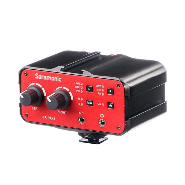 Saramonic Adaptador Audio DSLR SR-PAX1 -