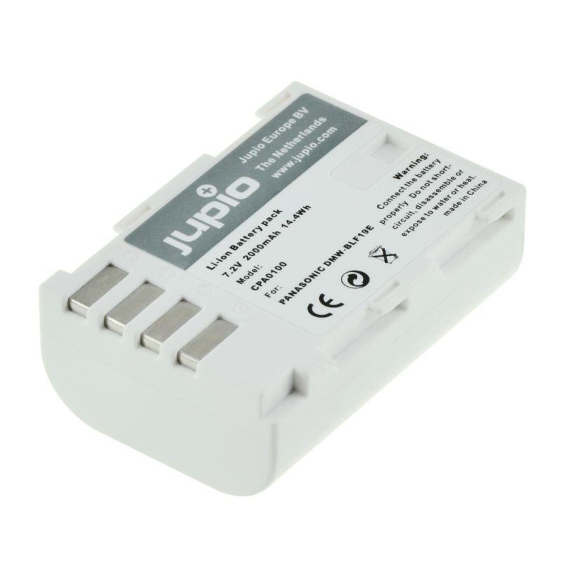 Jupio Batería Panasonic DMW-BLF-19E 2000 mAh -