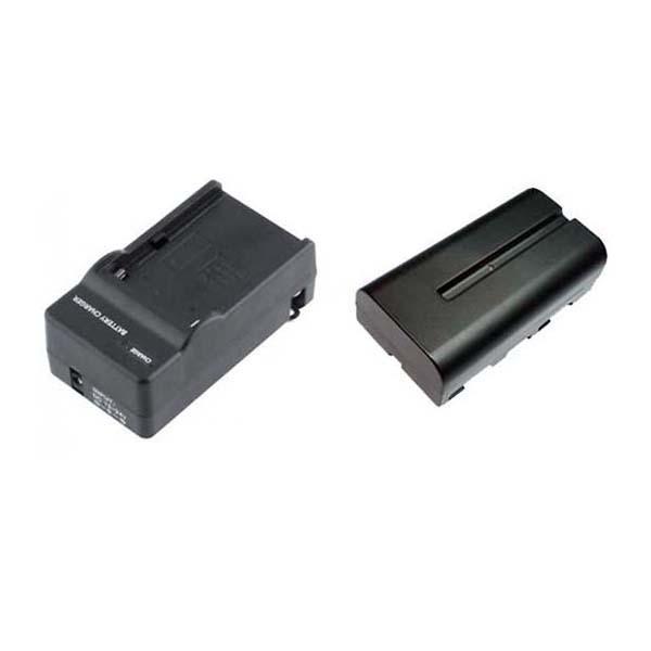 Zeus Bateria para Sony NP-F550 + Cargador -