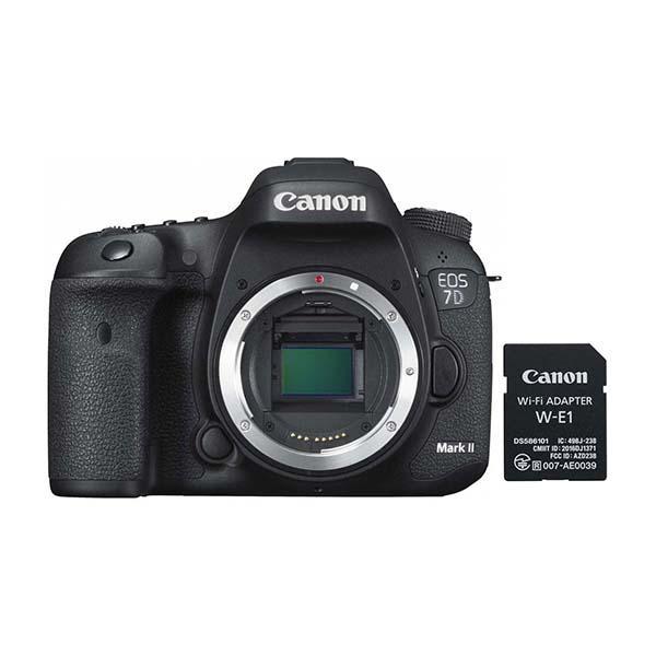 Canon Cámara EOS 7 D Mark II + Wi-Fi adapter W-E1 -