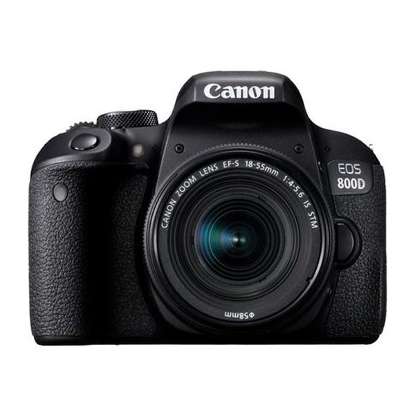 Canon Cámara EOS 800D + 18-55mm IS STM New -