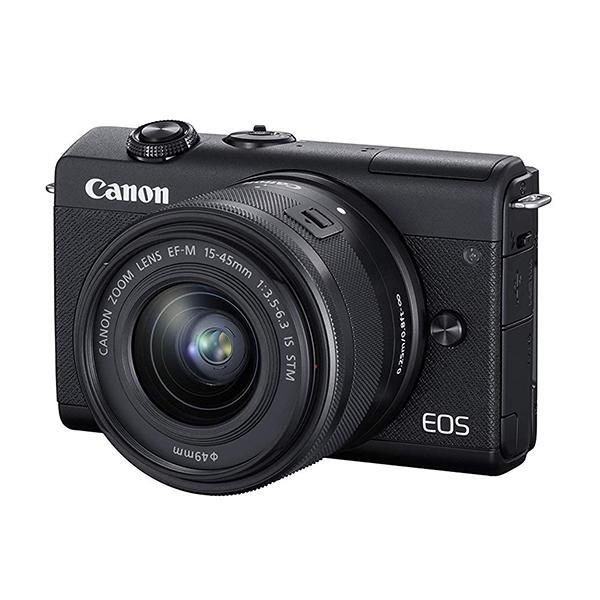 Canon Cámara EOS M200 + M15-45mm S Negra