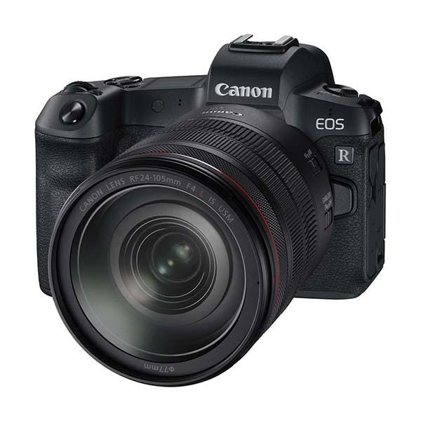 Canon Cámara EOS R+ RF 24-105mm f4 L IS + adaptador EF-ER -