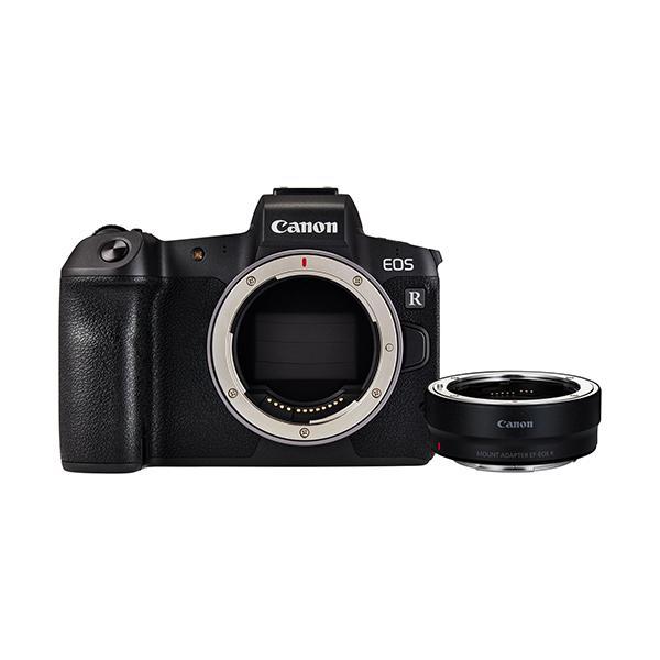 Canon Cámara EOS R + adaptador EF-EOS R
