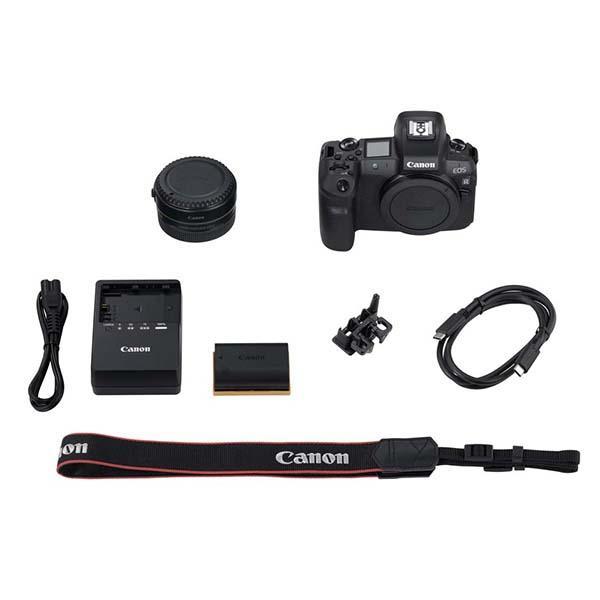 Canon Cámara EOS R + adaptador EF-EOS R -