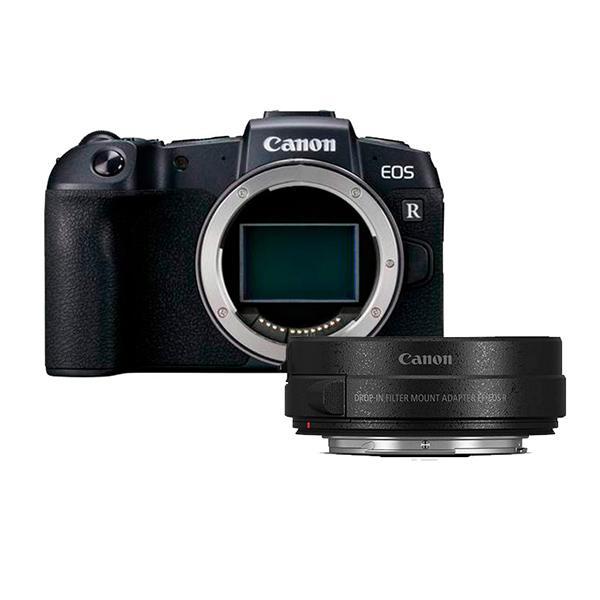 Canon Cámara EOS RP + Adaptador EF -