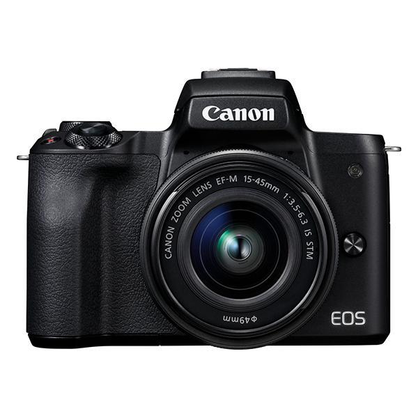 Canon Cámara EOS M50 Mark II + EF-M 15-45mm Negra -