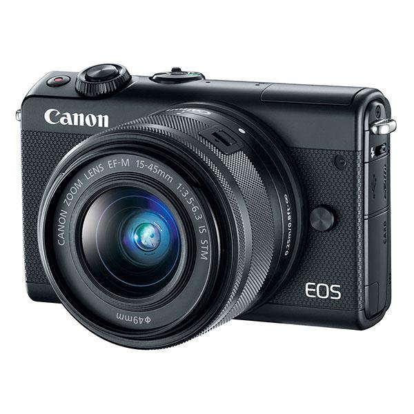 Canon Cámara EOS M100 Negra + 15-45S