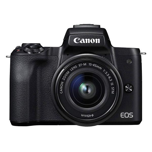 Canon Cámara EOS M50 Negra + 15-45S