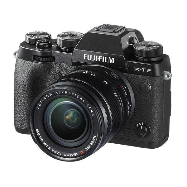 Fuji Cámara X-T2 + Objetivo 18-55mm - Descuento directo y empuñadura gratis desde el 15/05/19 hasta el 15/08/19