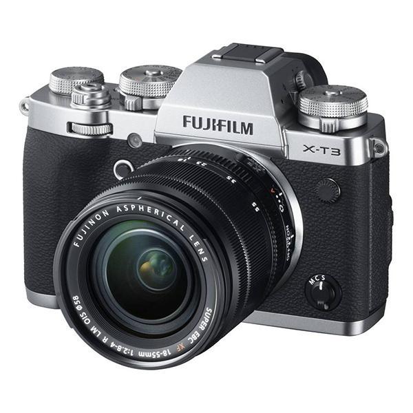 Fuji Cámara X-T3 Plata + XF 16-80mm f4