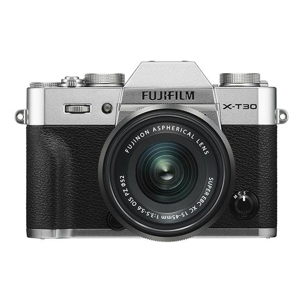 Fuji Cámara X-T30 + XC 15-45mm Plata -