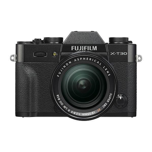 Fuji Cámara X-T30 + XF 18-55mm Negra -