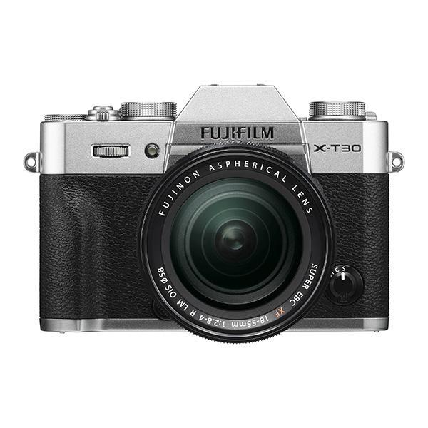 Fuji Cámara X-T30 + XF 18-55mm Plata -