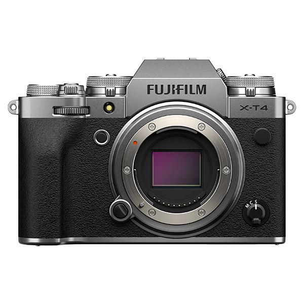 Fuji Cámara X-T4 Plata Cuerpo