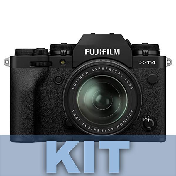 Fuji Cámara X-T4 Negra + XF 18-55mm f2.8-4