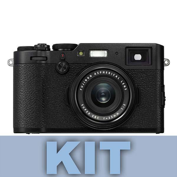 Fuji Cámara X100F Negra 24MP + XF 23mm (equivalente 35mm)