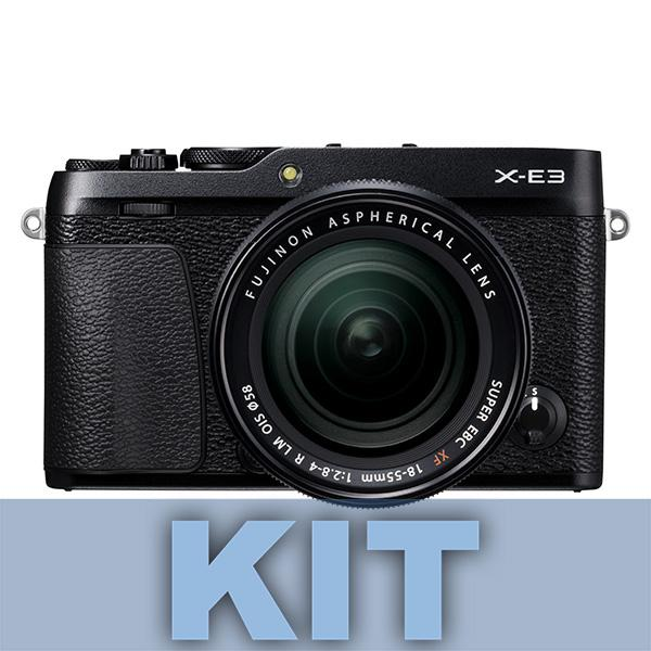 Fuji Cámara X-E3 + XF 18-55mm Negra -