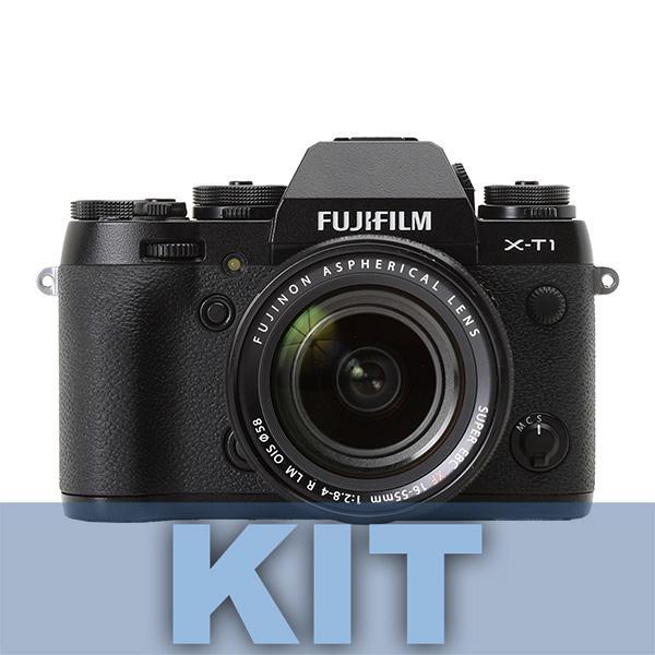 Fuji Cámara X-T1 + Objetivo 18-55mm