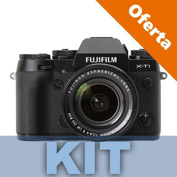 Fuji Cámara X-T1 + Objetivo 18-55mm -