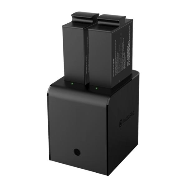 Insta360 Cargador 2 x Batería para PRO 2 8K