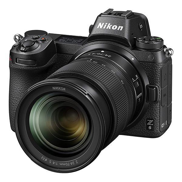 Nikon Cámara Z6 + 24-70mm f4 S Sin Adaptador FTZ