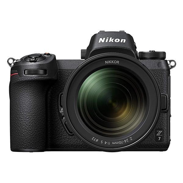Nikon Cámara Z7 + 24-70mm + Adaptador FTZ + XQD 64GB Sony G