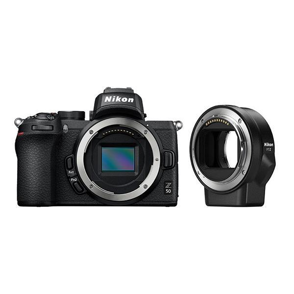 Nikon Cámara Z50 + Adaptador FTZ
