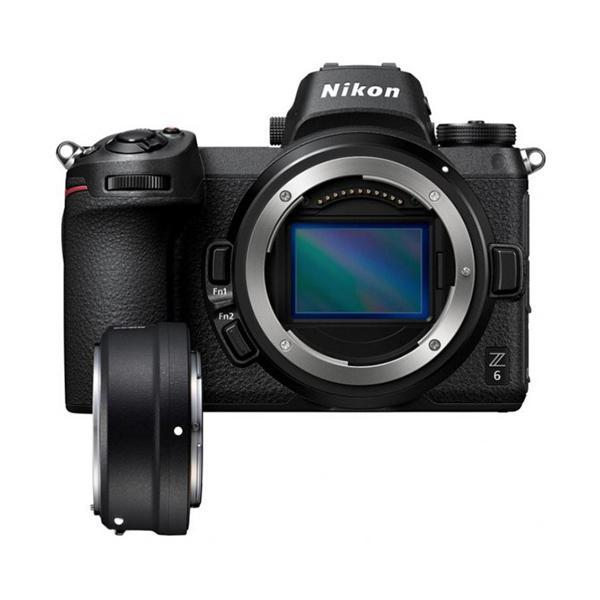 Nikon Cámara Z6 + Adaptador FTZ -