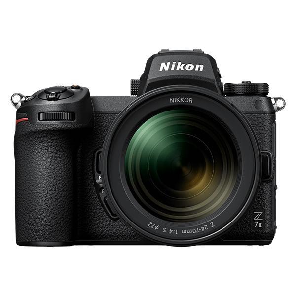 Nikon Cámara Z7 II + Adaptador FTZ + 24-70mm f4