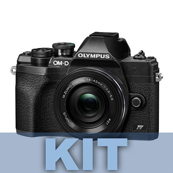Olympus Cámara OM-D E-M10 Mark IV + 14-150mm Negro-Negro