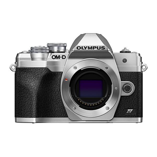 Olympus Cámara OM-D E-M10 Mark IV Cuerpo Plata