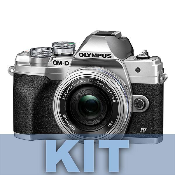 Olympus Cámara OM-D E-M10 Mark IV + 14-150mm Plata-Negro