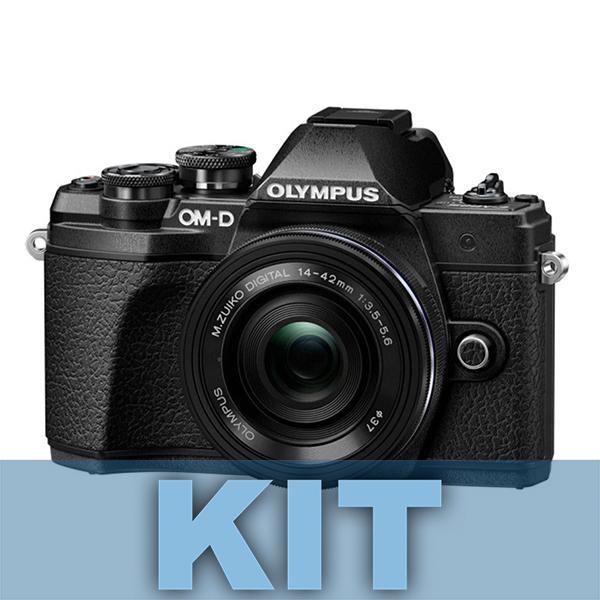 Olympus Camara E-M10 Mark III +14-42mm IIR Negro - Hazte con la nueva OM-D E-M10 Mark III y comparte tus  experiencias del mundo con imágenes y vídeos de gran definición. Recuerdos de paisajes espectaculares, escenarios urbanos y fascinantes vistas de todo el mundo: captúralos todos con una calidad impresionante con solo tocar un botón. La OM-D E-M10 Mark III es una cámara ligera que está lista para adaptarse a tu estilo de vida y acompañarte a todas partes. Además, su estilo moderno-clásico la hará destacar del resto. Incluye objetivo 14-42mm II R.