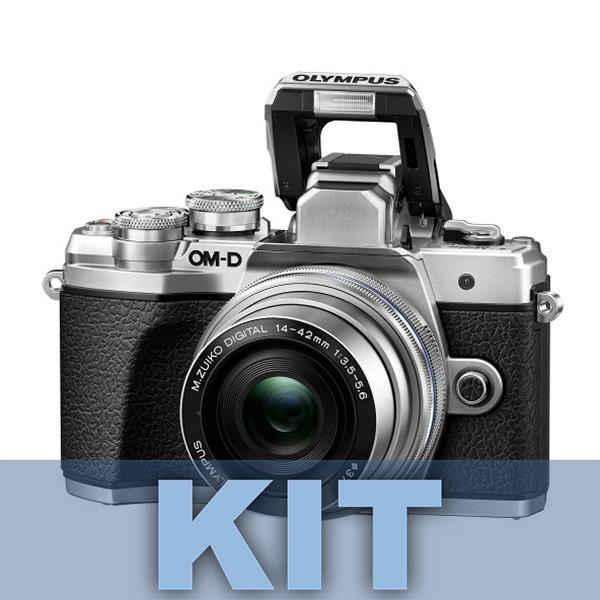 Olympus Camara E-M10 Mark III +14-42mm IIR Plata - Hazte con la nueva OM-D E-M10 Mark III y comparte tus  experiencias del mundo con imágenes y vídeos de gran definición. Recuerdos de paisajes espectaculares, escenarios urbanos y fascinantes vistas de todo el mundo: captúralos todos con una calidad impresionante con solo tocar un botón. La OM-D E-M10 Mark III es una cámara ligera que está lista para adaptarse a tu estilo de vida y acompañarte a todas partes. Además, su estilo moderno-clásico la hará destacar del resto. Incluye objetivo 14-42mm II R.