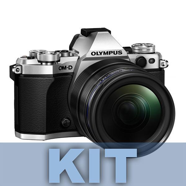 Olympus Cámara OM-D E-M5 Mark II + 12-50m Motorizado Plata - E-M5 Mark II: Adiós a las imágenes borrosas. Imágenes perfectas con la estabilización de imagen más potente del mercado. Fotos y vídeos nítidos incluso con poca luz y sin trípode. La estabilización en 5 ejes VCM compensa todo tipo de movimiento de la cámara. Incluso permite ofrecer una imagen óptima en el visor para mayor estabilidad en el encuadre. Incluye objetivo 12-50mm Motorizado.