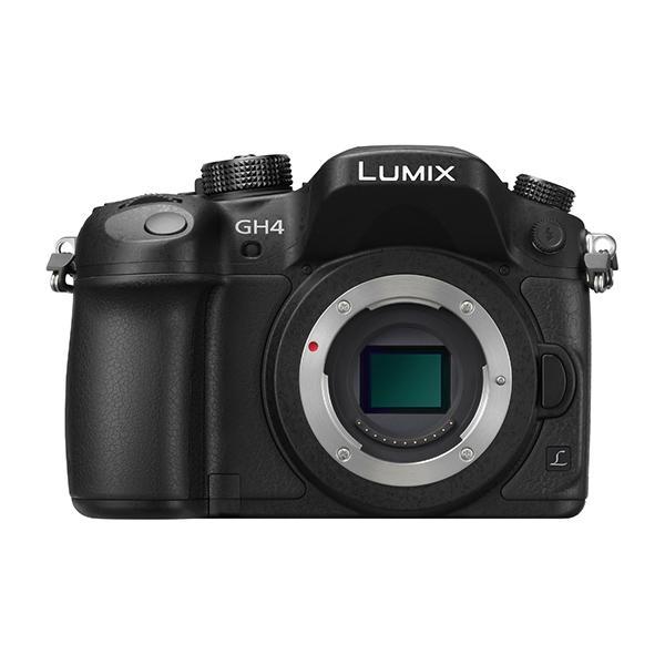 Panasonic Cámara DMC-GH4RE-K Cuerpo 4K 16Mpx - La nueva cámara llegada en Otoño de 2015, resulta de la demanda de producción cinematográfica en el mercado. La cámara DMC-GH4R permite el registro de vídeo (V-Log L) de este modo ofrece una excepcional flexibilidad, además de un mayor rango dinámico para la gradación del color en procesos de postproducción