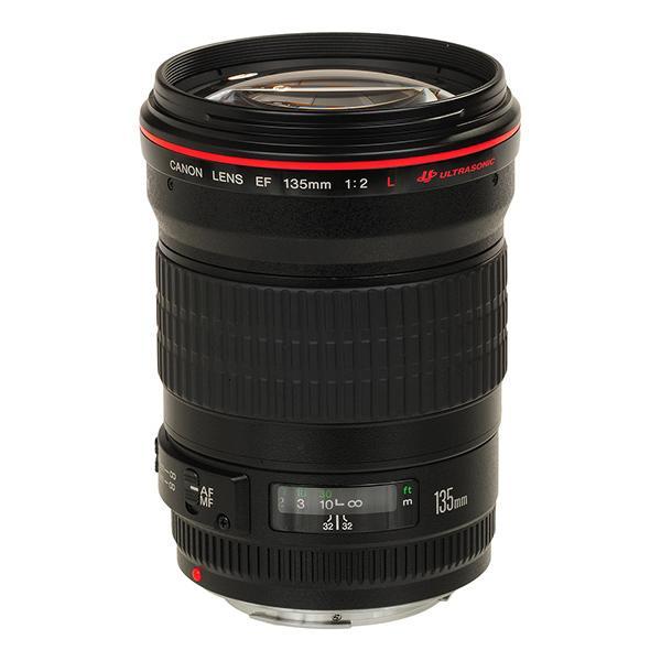 Canon Objetivo EF 135mm f2.0 L USM