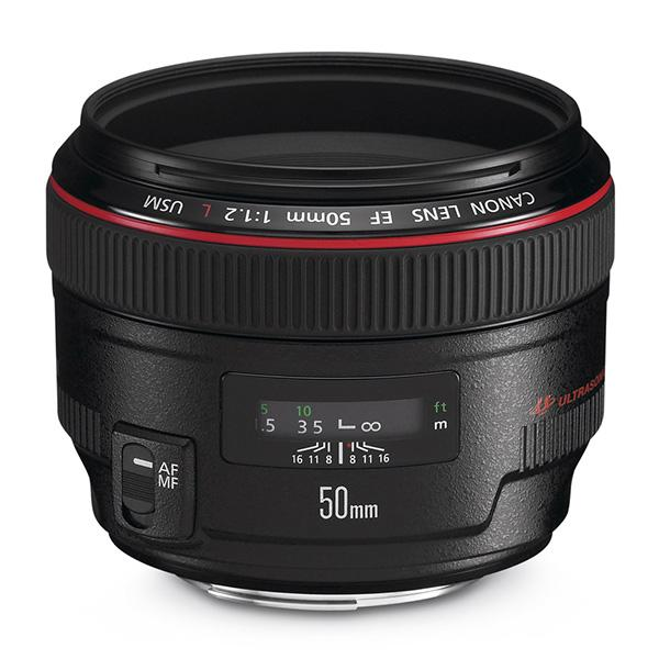 Canon Objetivo EF  50mm f1.2 L USM