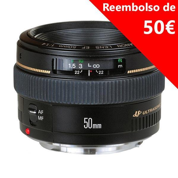 Canon Objetivo EF  50mm f1.4 USM