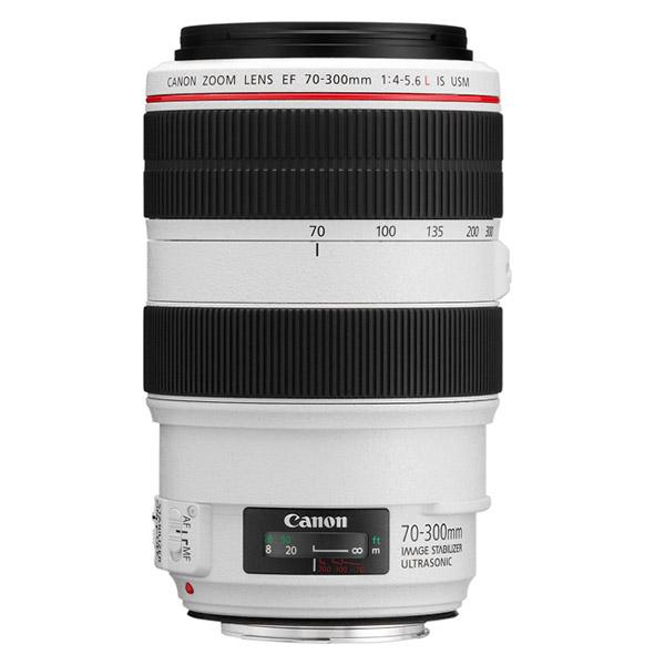 Canon Objetivo EF Zoom  70-300mm f4-5.6 L IS USM
